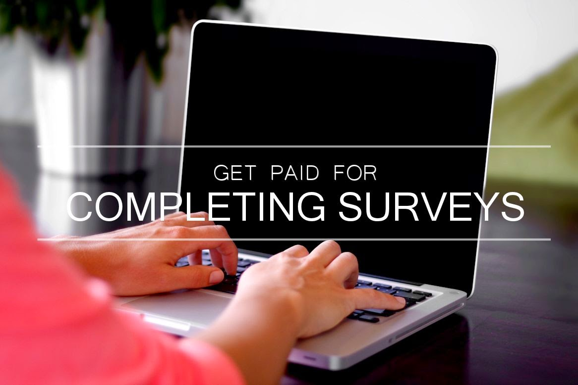 Get Paid for Completing Surveys