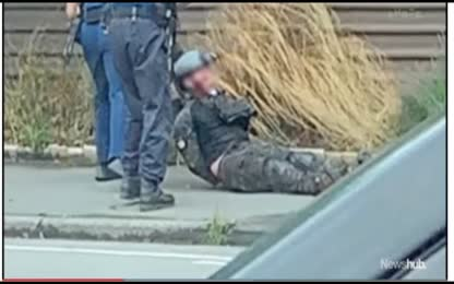 Onlooker Just Happens Upon Moment of Arrest of Supposed Christchurch Mosque Shoostings Govt Actor