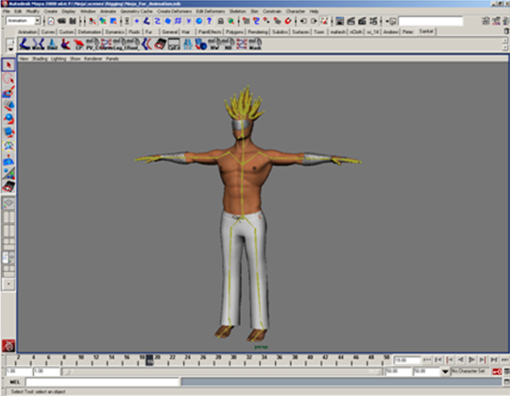 character rigging As soon as your character is rigged, you can begin the animation, being helped by a lot of automations  duik is not only a tool for rigging,.