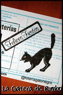 Reverso décimo Lotería El Gato Negro