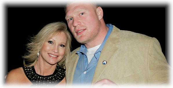 La ex diva de la WWE Sable junto a su esposo y actual luchador de la WWE Brock Lesnar