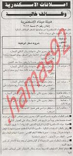 وظائف هيئة ميناء الاسكندرية