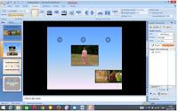 animasi slide presentasi