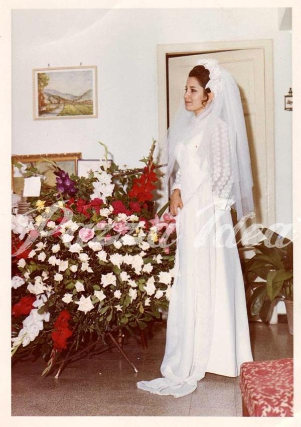 Abiti da sposa corti anni 70