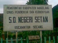 Ada SD SETAN di Magelang