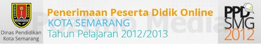 ppdb psb online semarang 2013