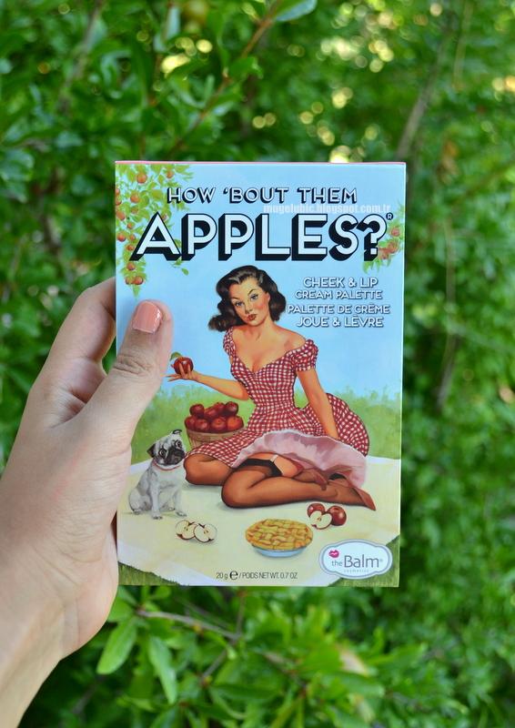 The Balm How 'Bout Them Apples, Krem Allık, Cream Blush