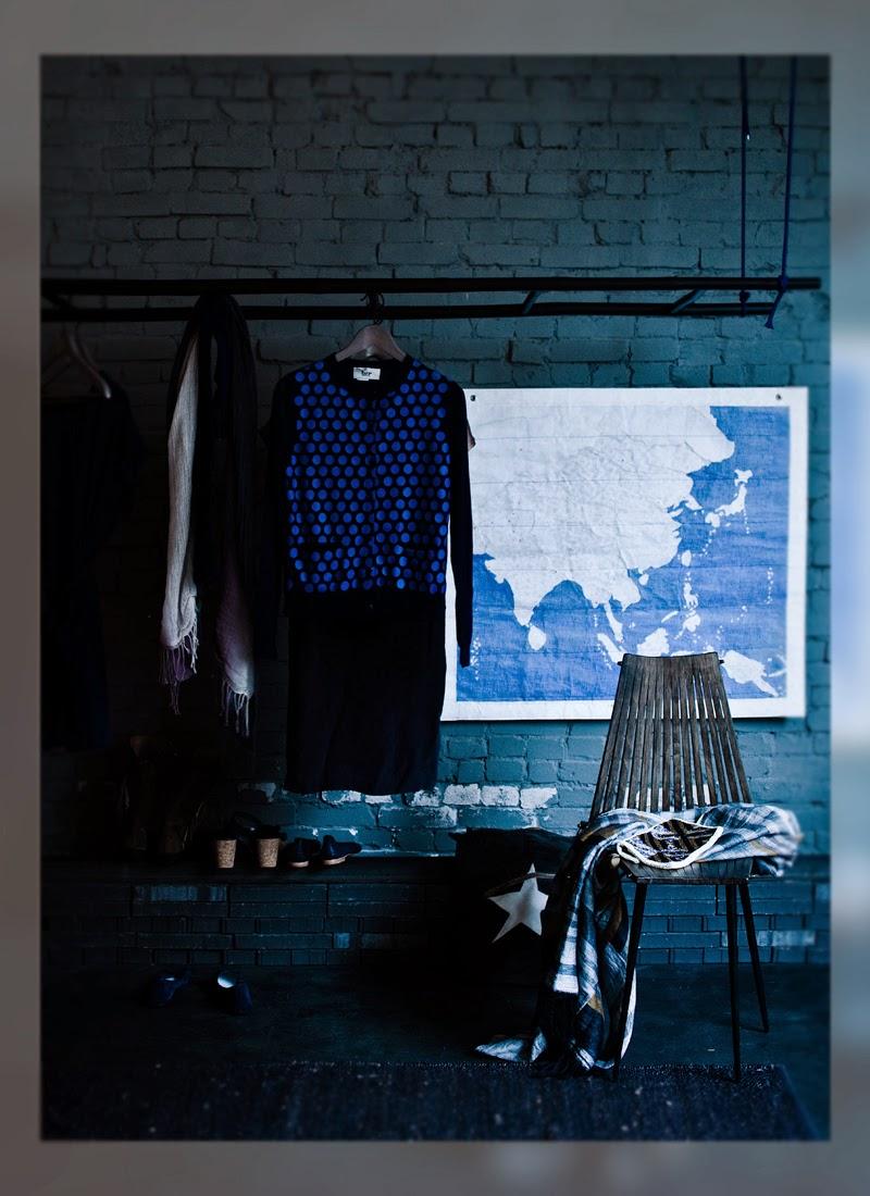 Jeroen van der Spek, La Musa, Decoracion, color, colour, azul, blue, indigo,