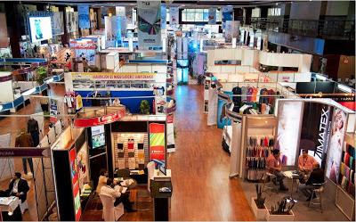CorpoEventos apoya Agexport en el Montaje de Apparel 2013
