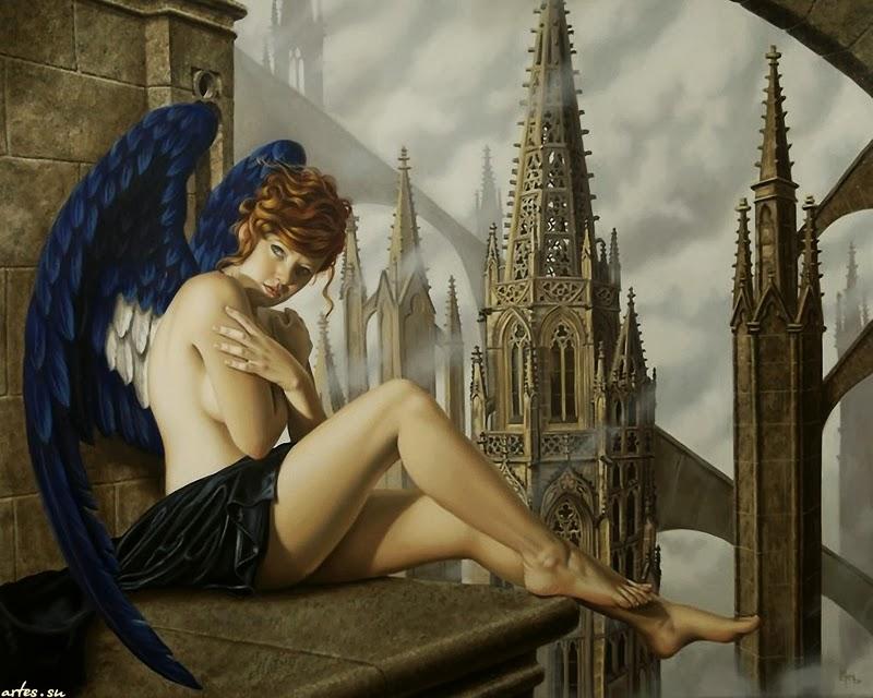 D.W.C. Juan's Women - Painter Juan Medina