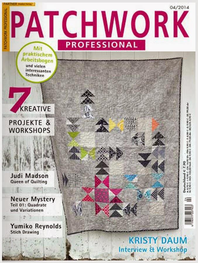 Patchwork Professional magazine // Kristy Daum - STAR'D quilt