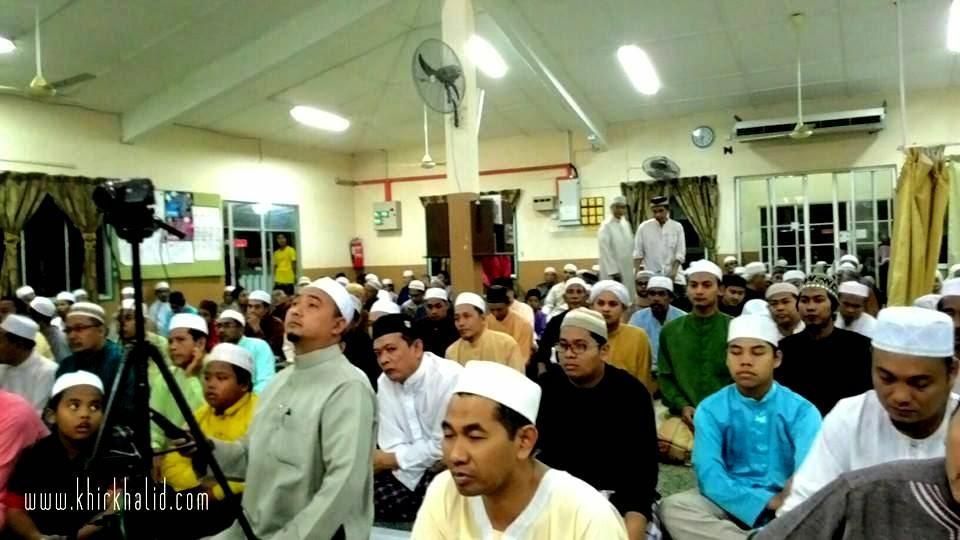 Kuliah Maghrib Perdana, Madrasah As Siddiqin, Bandar Tasik Puteri, Rawang