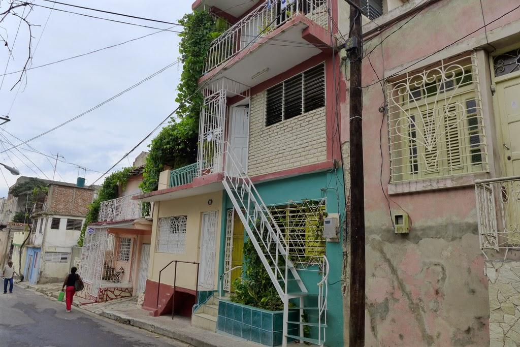 Santiago de Cuba houses