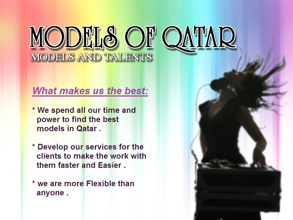 Models Talent Casting Of Qatar