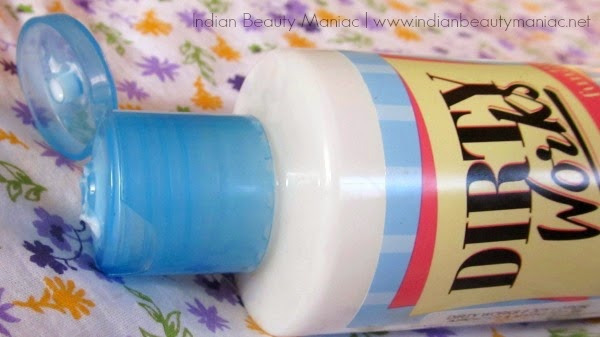 Dirty Works Bare Necessity Body Lotion flip cap