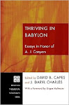 Thriving in Babylon (Wipf & Stock, 2010)