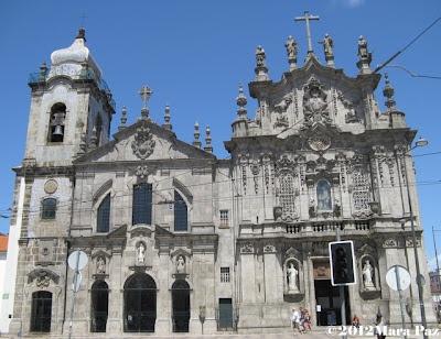 Carmo and Carmelitas Churches in Oporto