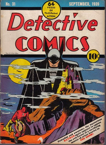 Detective Comics #31 Cover Artwork by Bob Kane