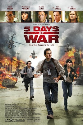 5 Days of War poster