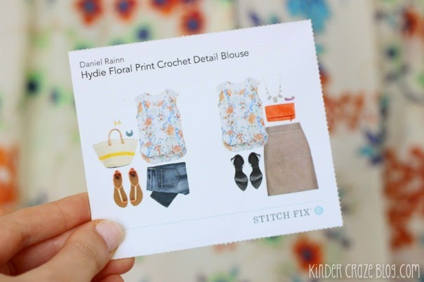 gorgeous floral print blouse from Stitch Fix