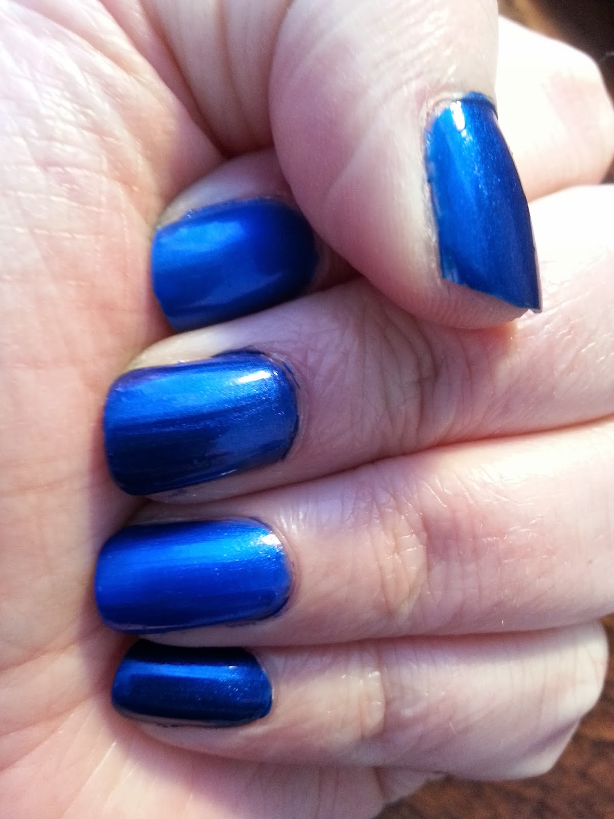 Hot Glue & Sparkle: SHADE CHEAP: MIDNIGHT BLUE NAIL POLISHES