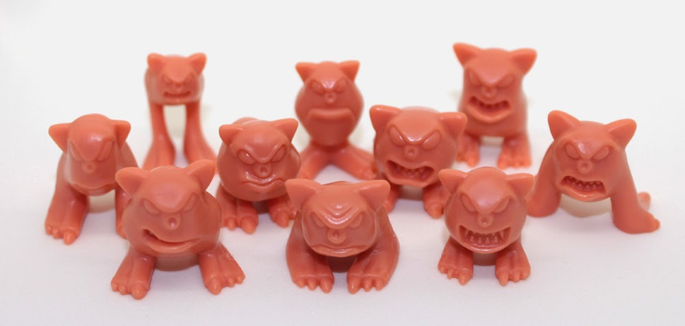 October Toys Exclusive Flesh Mordles Mini Figure Set by John Kent of Toyfinity (1)