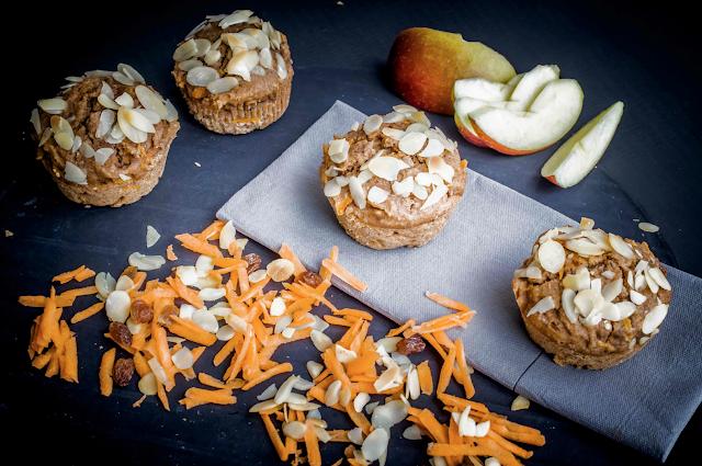 Muffins mit Chia Samen als Eiersatz Rezept