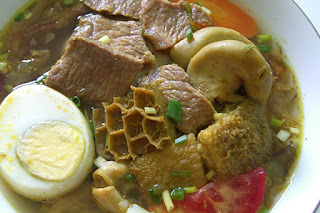 Recipes and how to cook Soto beef tripe