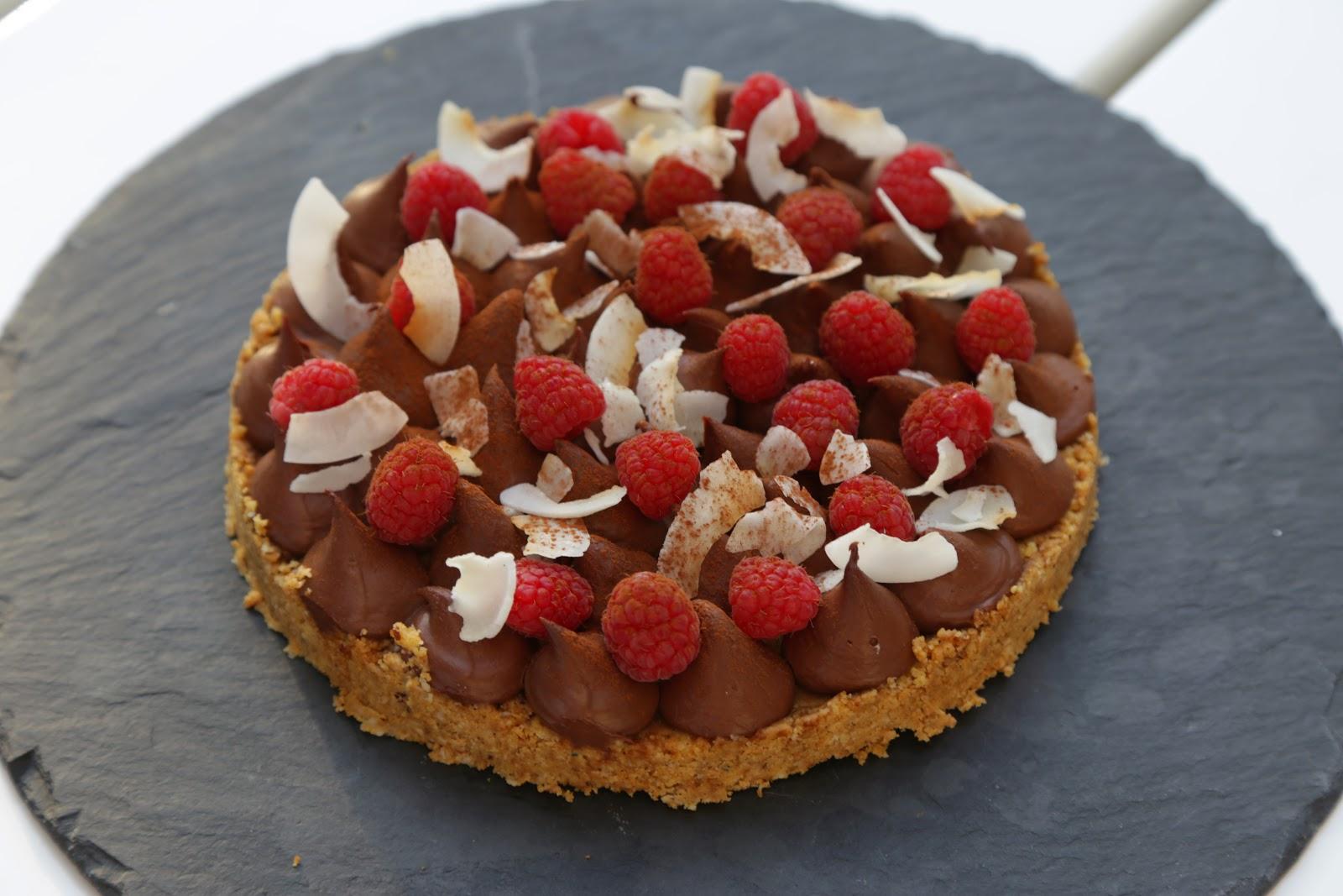 On Dine Chez Nanou Tarte Croustillante Ganache Chocolat Sans Creme