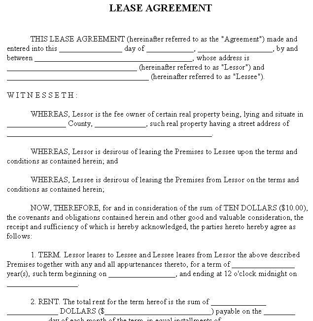 Rent agreement format 2013 platinumwayz