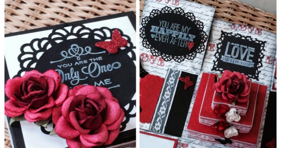 Juhi's Card Shop: Romantic Exploding Box Cards
