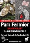 à venir, Pari Fermier à la Bergerie nationale de Rambouillet!