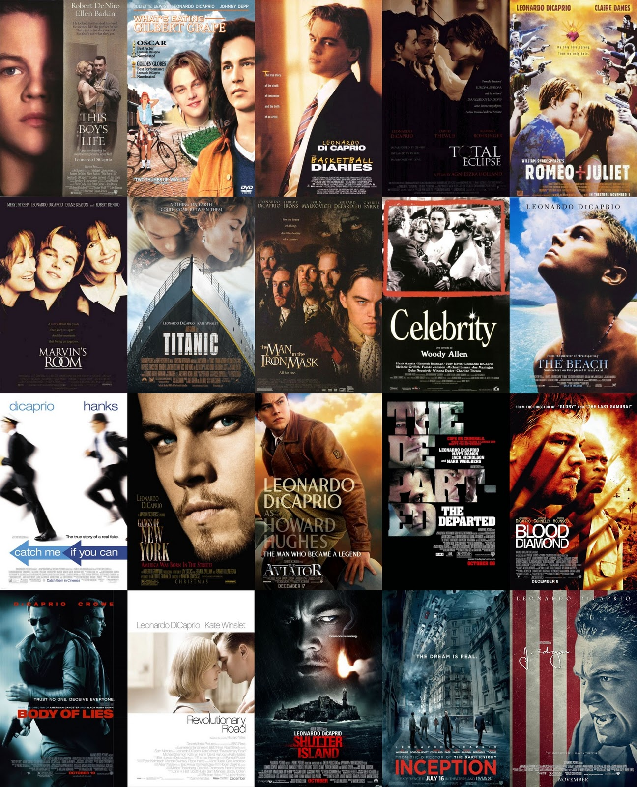 Rank your Favorite Leonardo DiCaprio Movies | Movies ... Leonardo Dicaprio Movies