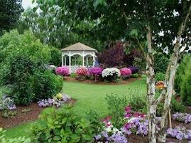 Pekná záhrada