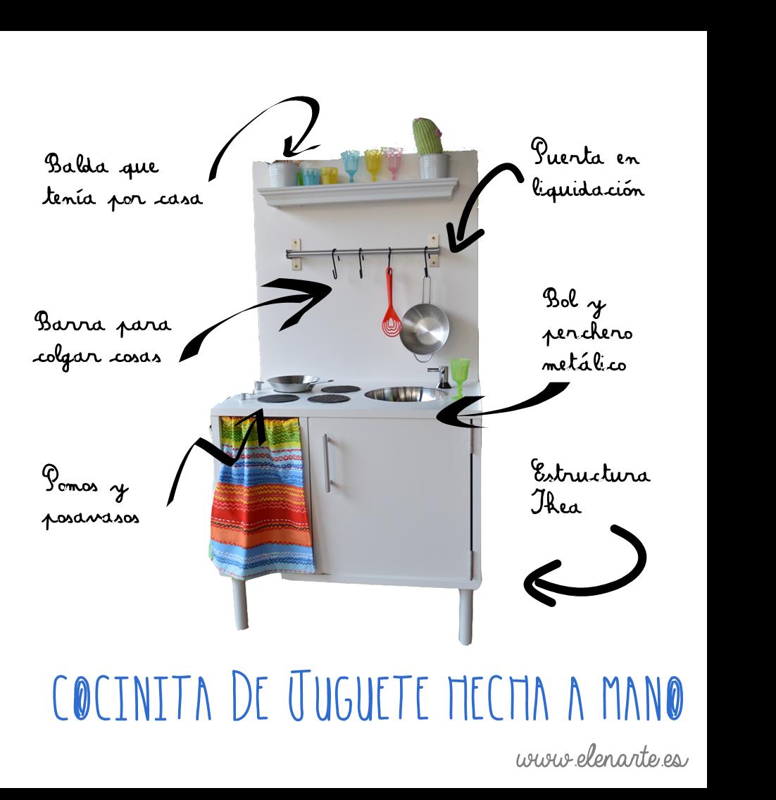 C mo hacer una cocinita de juguete handmade elenarte for Cocinitas de juguete segunda mano