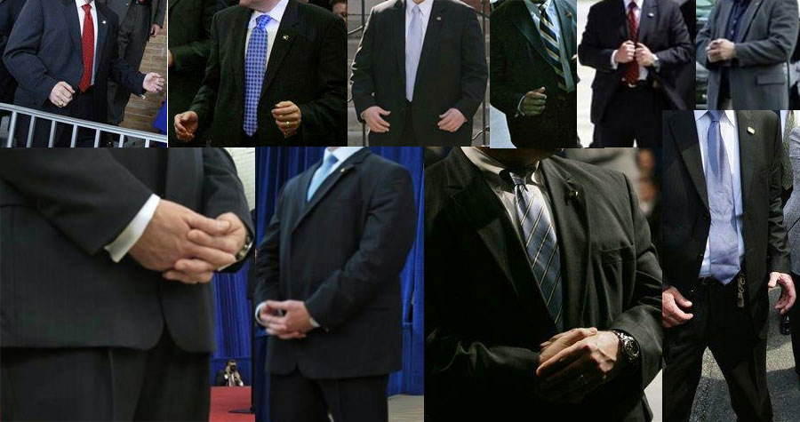 vice presidents and first lady s treatment of the Secret ServiceSecret Service Agents Badge