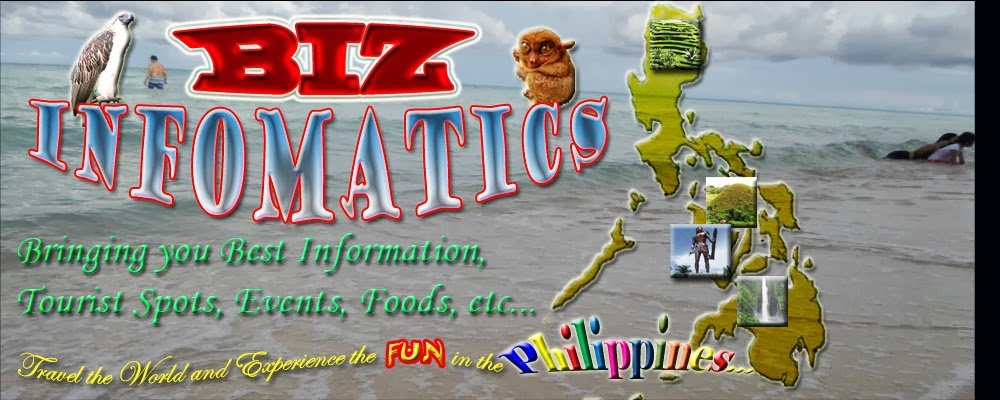 Biz Infomatics: Tourist spots, Events, Foods in the Philippines