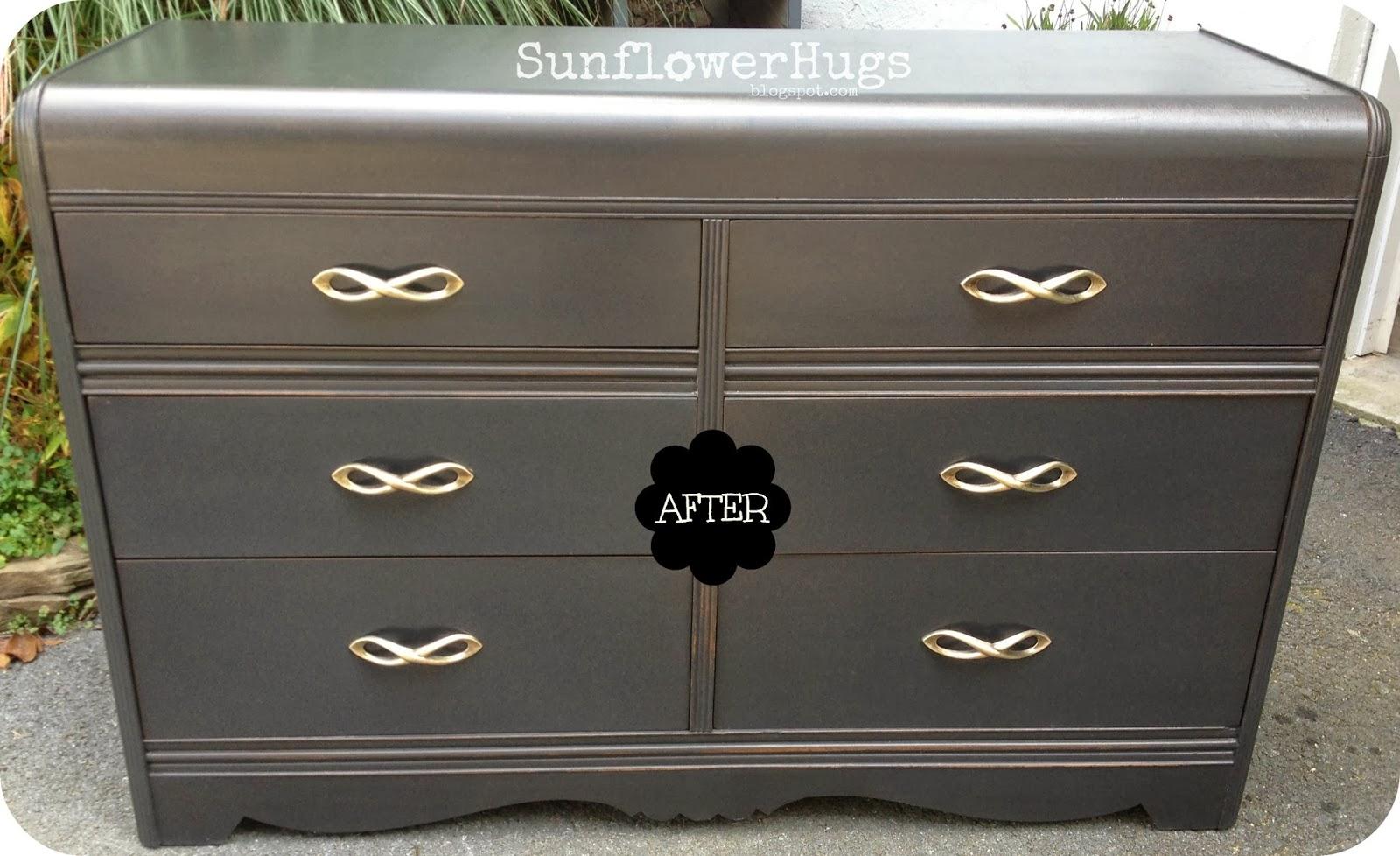 Martha Stewart Living Craft Furniture SunflowerHugs: Black Waterfall Dresser