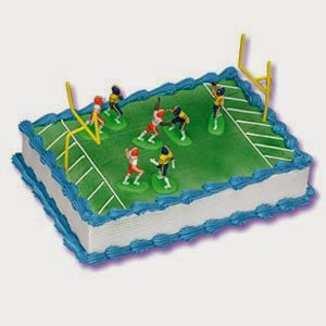 Cake Decorated Like Football Field : Birthday Cake Pictures: Football Birthday Cake Pictures