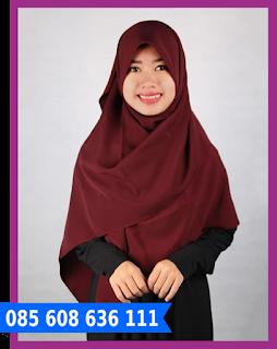 jilbab segi empat jual