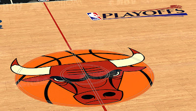 NBA 2K13 Court Playoffs Logo Mod