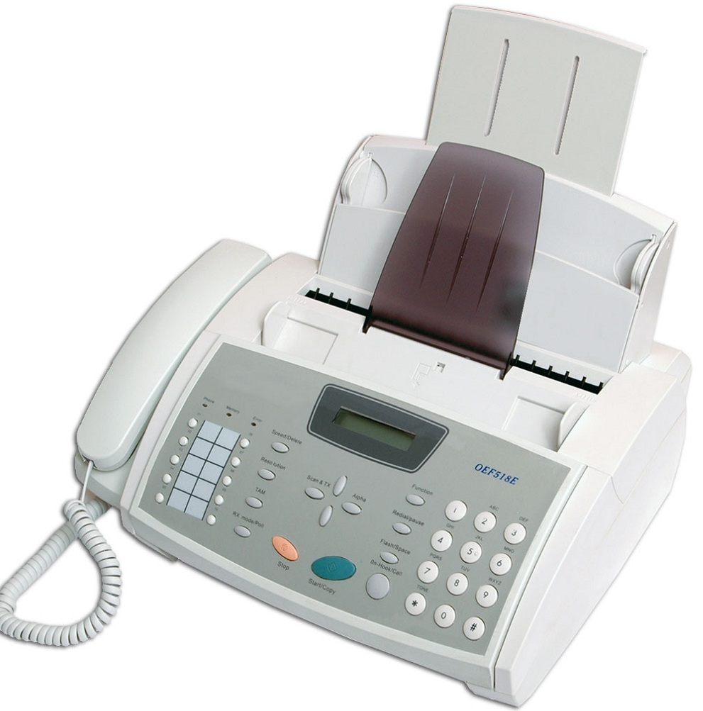 fax machine that works with cell phone