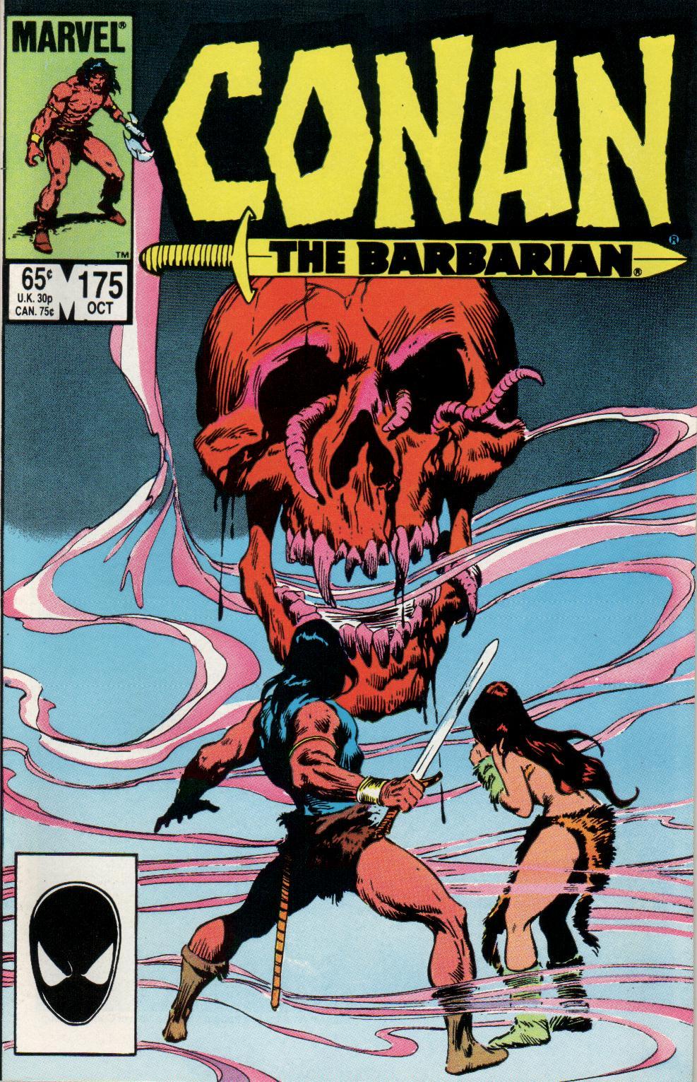 Conan the Barbarian (1970) Issue #175 #187 - English 1