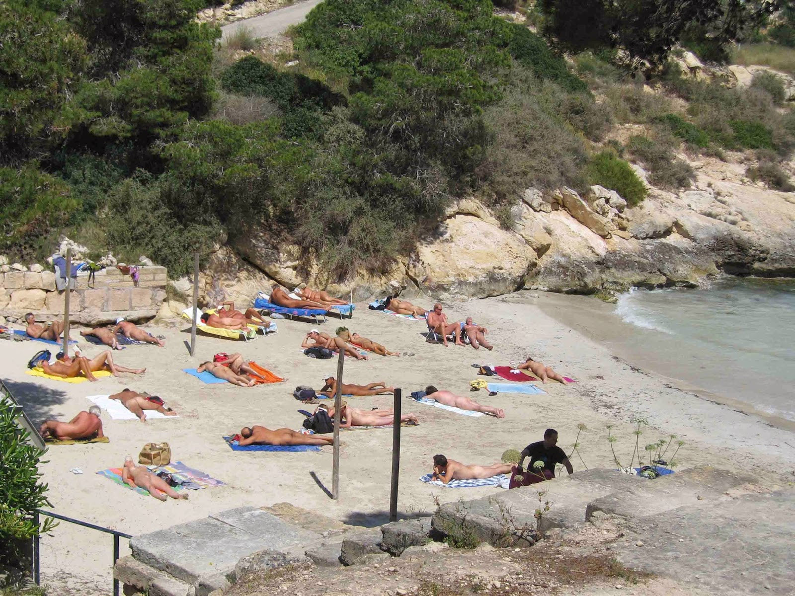 Cala El Mago nudist beach