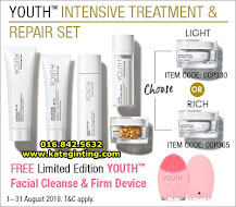 PROMOSI: INTENSIVE TREATMENT & REPAIR SET YOUTH SKINCARE