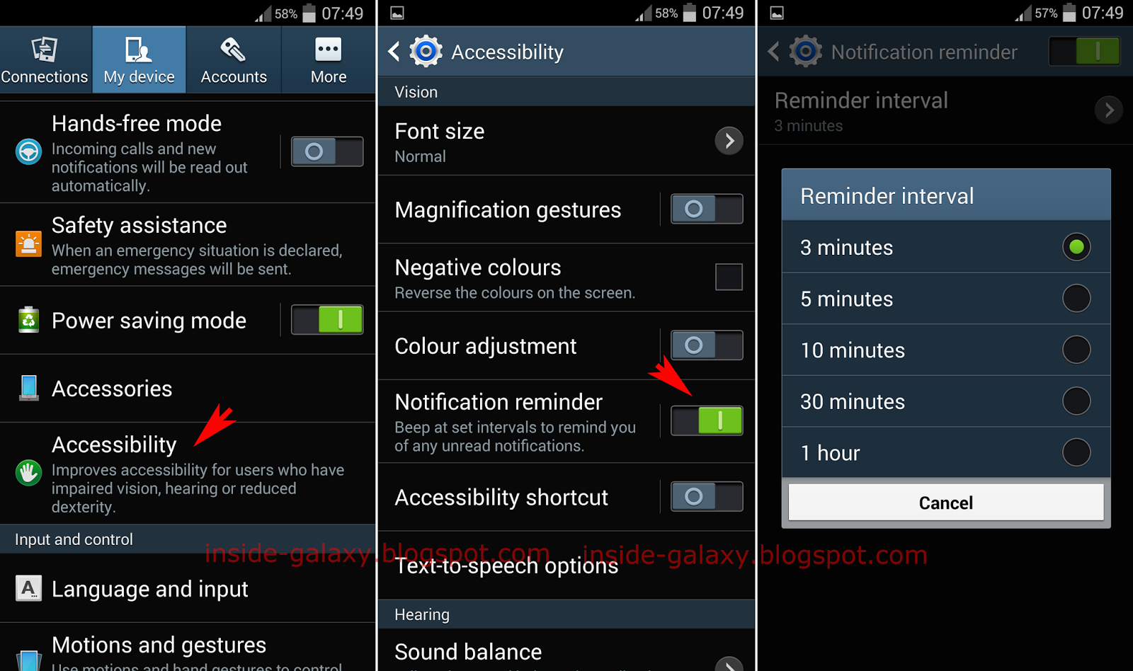 Samsung Galaxy S4: How to Enable or Disable Notification Reminder in