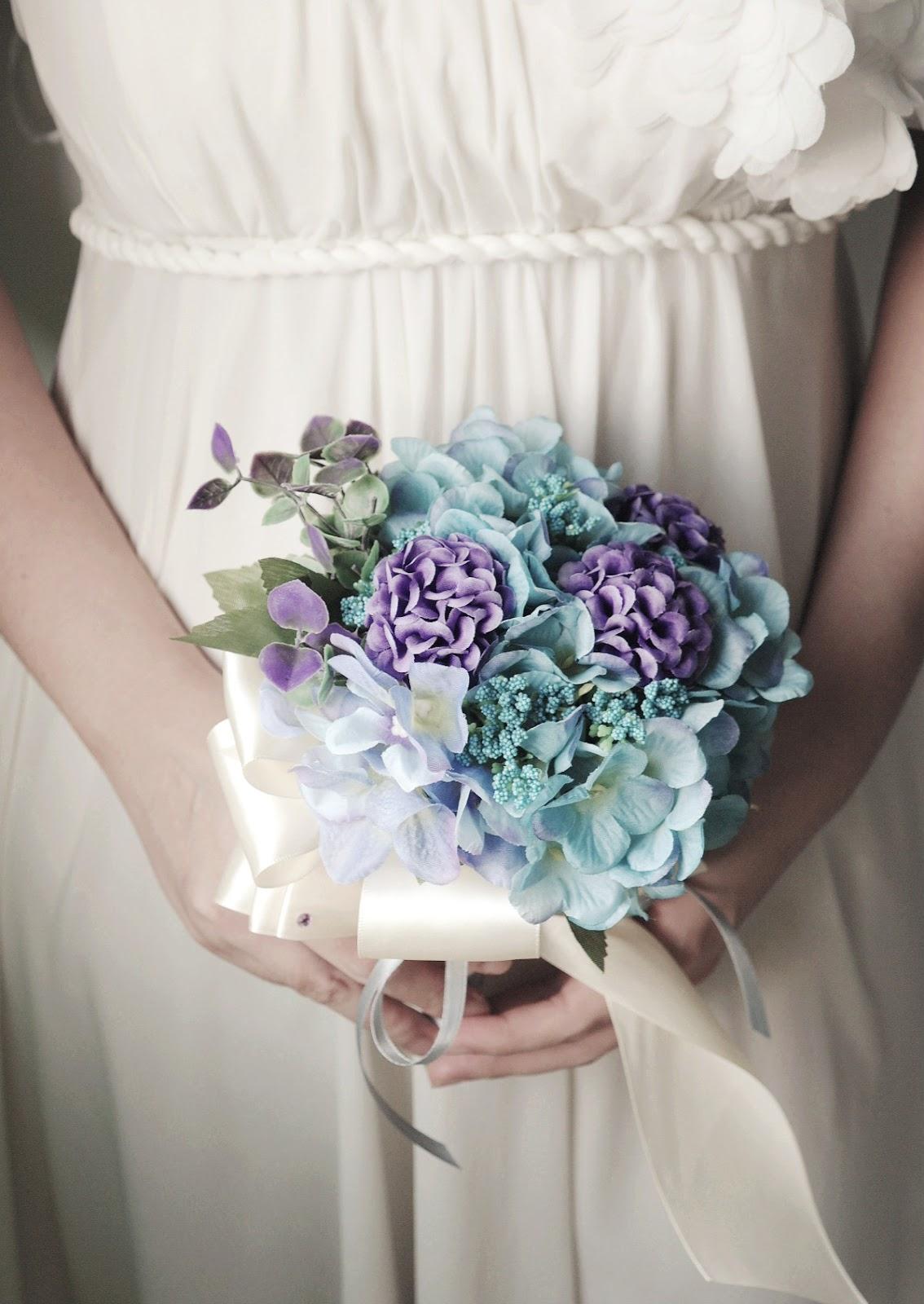 Inakabeads handmade fabric flower accessories wedding corsages handmade flower bouquet izmirmasajfo Image collections
