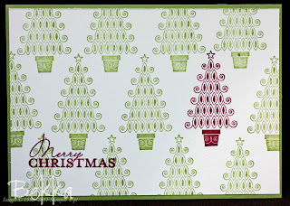 Love the pop of colour on this lovely Contempo Christmas Cards by Bekka www.feeling-crafty.co.uk