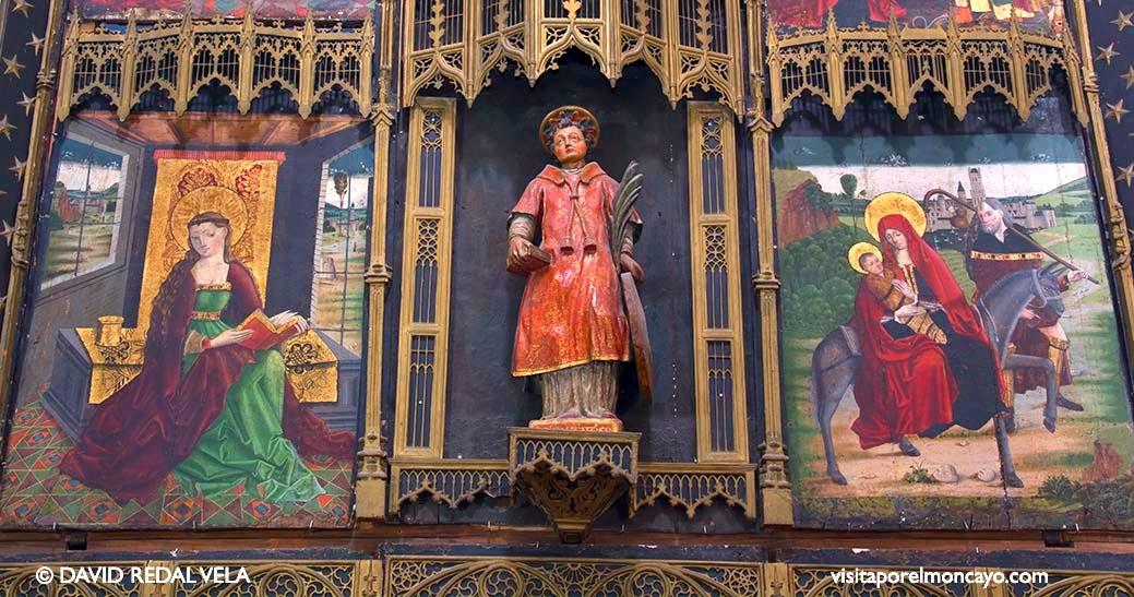 Imagen de San Vicente Basílica de la Virgen de los Milagros de Agreda