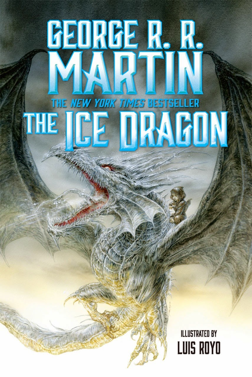 cover art the ice dragon by george r r martin speculative the ice dragon is a children s illustrated book taking place in the world of a song of ice and fire it is one of the tales that old nan used to tell